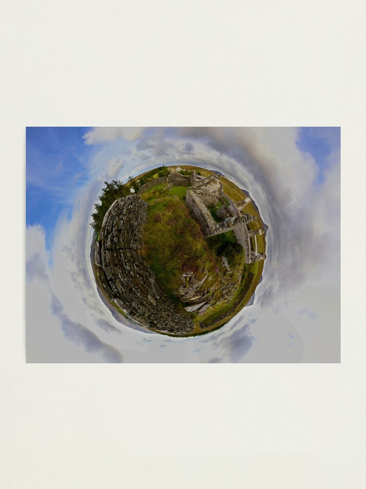 Alternate view of Ruins at Cashelnagor, County Donegal, Ireland Photographic Print