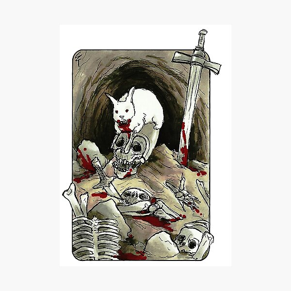 Villain Clans - Rabbit of Caerbannog Photographic Print