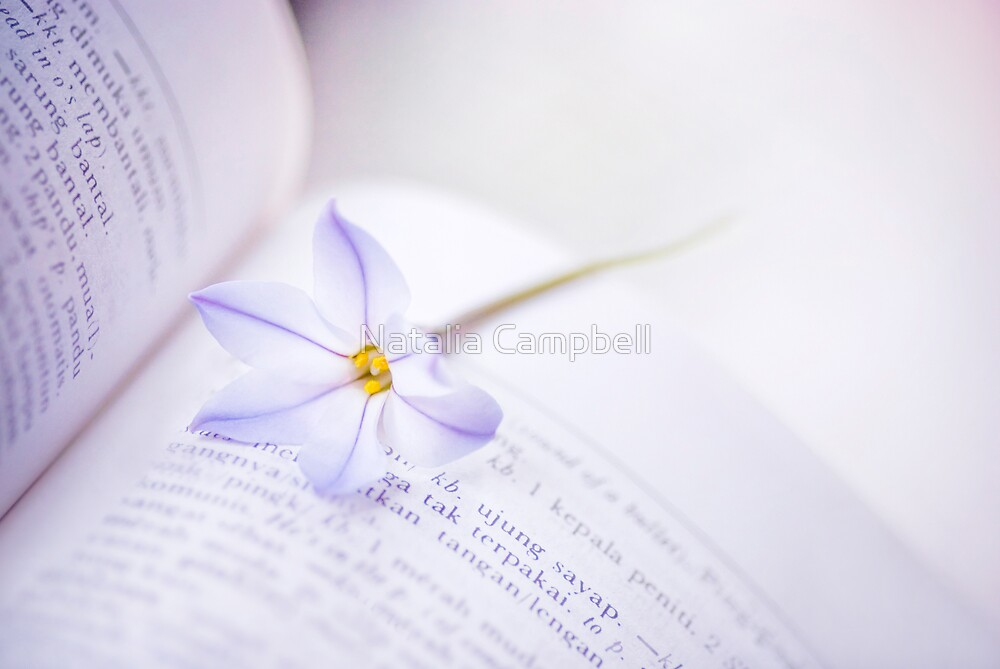 fill your paper with the breathings of your heart by Natalia Campbell