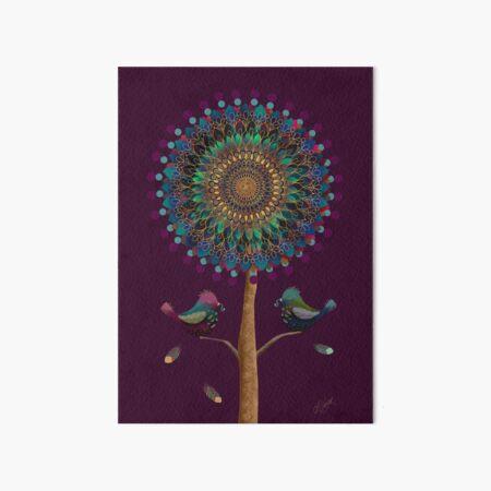 The Mandala Tree Art Board Print