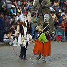 A strange Ritual - Peru by Christophe Dur