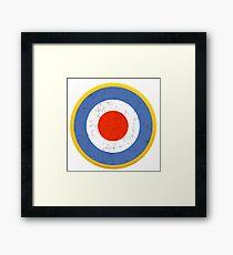 WW2 RAF ROUNDEL Framed Print