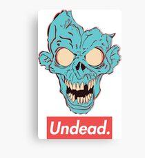 Undead. Canvas Print