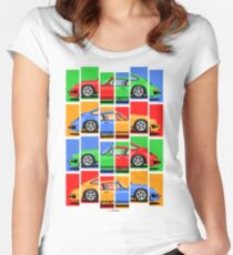 911 Vintage Classic Car Women's Fitted Scoop T-Shirt
