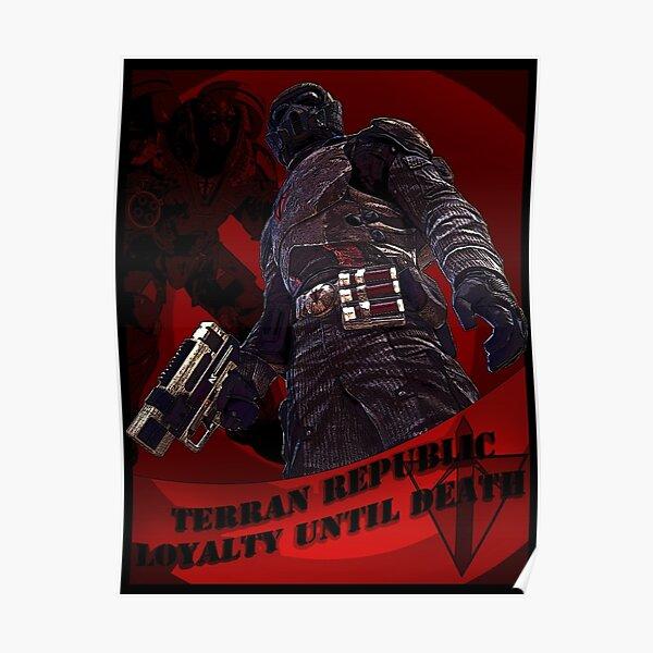 Trete der Terranischen Republik bei Poster