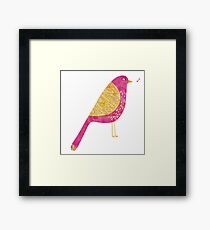 Sarcastic Bird Framed Print