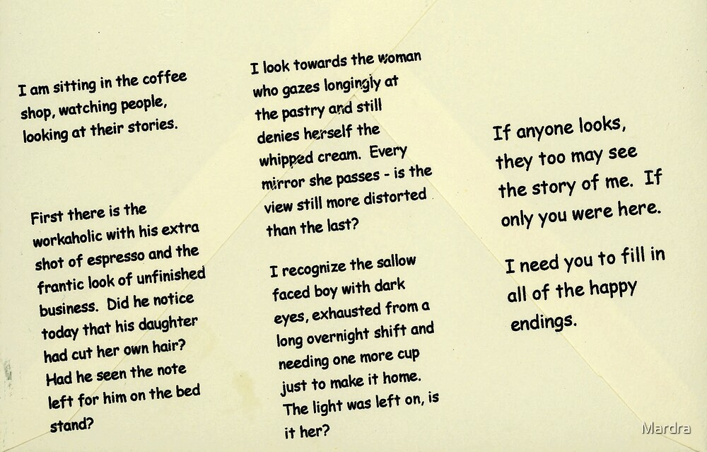Coffee Shop Notes by Mardra