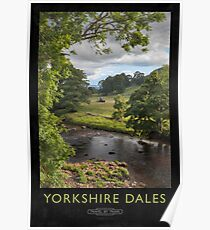 Yorkshire Dales Railway Poster Poster