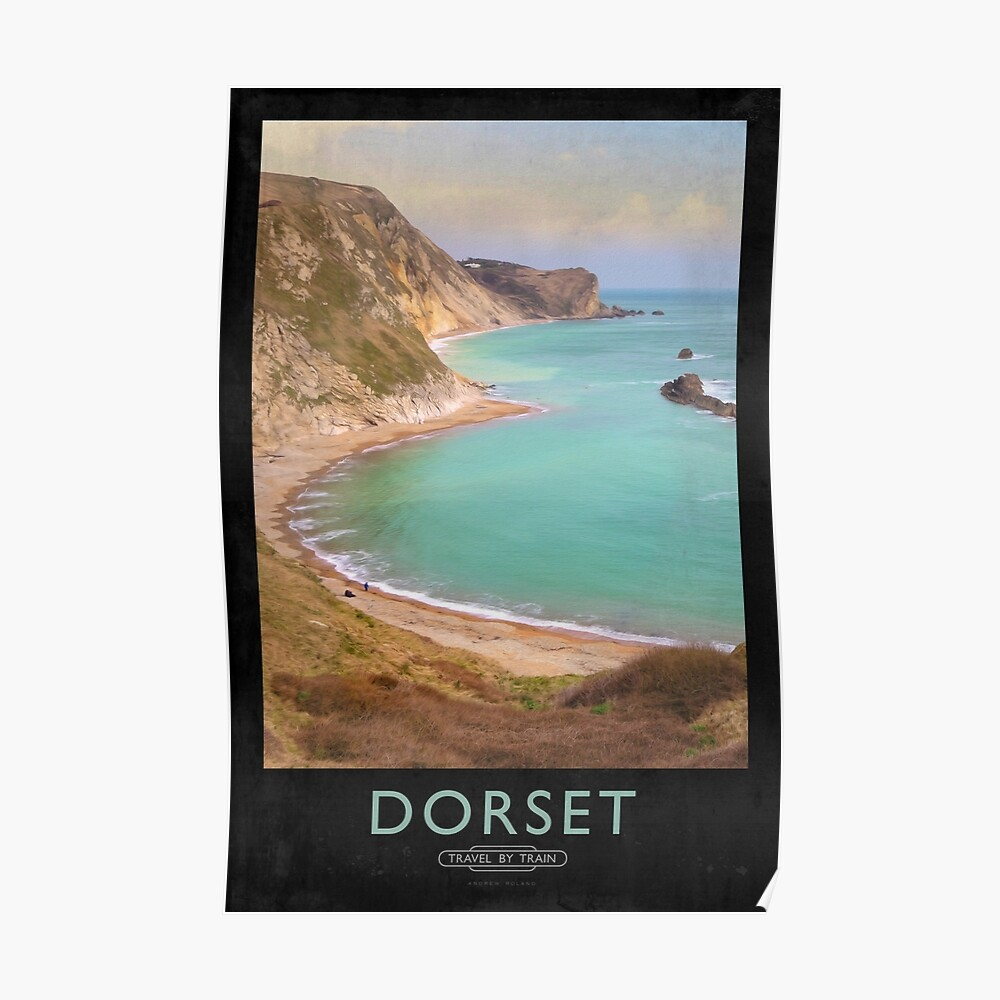 Dorset Railway Poster Poster