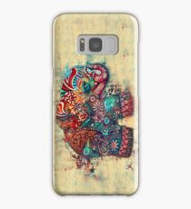 Vintage Elephant Samsung Galaxy Case/Skin