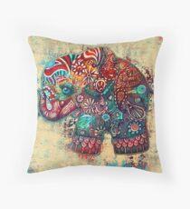 Vintage Elephant Floor Pillow