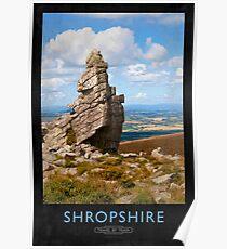 Shropshire Railway Poster Poster