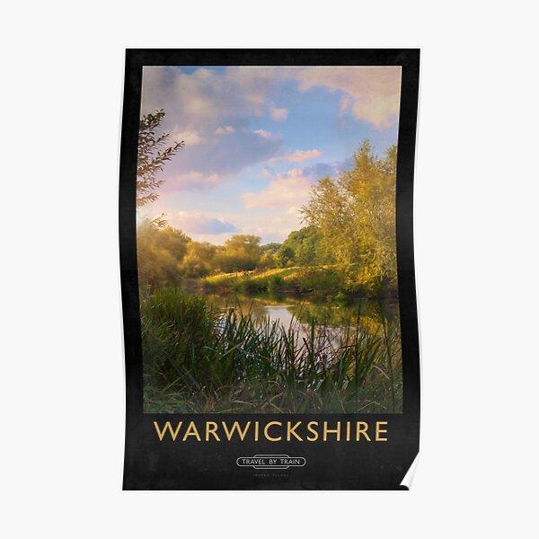 Warwickshire Railway Poster Poster