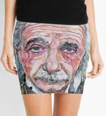 Minifalda ALBERT EINSTEIN - retrato de acuarela.13