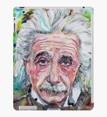 Vinilo o funda para iPad ALBERT EINSTEIN - retrato de acuarela.13