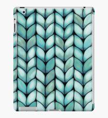 Chunky Mint Knit iPad Case/Skin