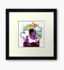 She's my Sister Framed Print