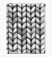 Chunky Charcoal Knit iPad Case/Skin