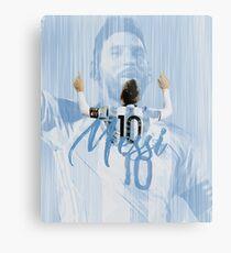 Messi- Argentina Metal Print