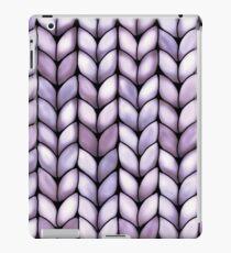 Chunky Lilac Knit iPad Case/Skin