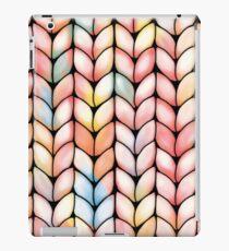 Chunky Rainbow Knit iPad Case/Skin