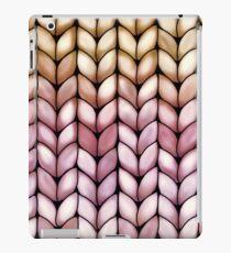 Chunky Raspberry Caramel Knit iPad Case/Skin
