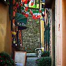 Little Street - Bellagio - Italy by Yannik Hay