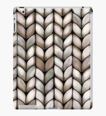 Chunky Latte Knit iPad Case/Skin