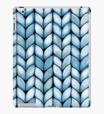 Chunky Aqua Knit iPad Case/Skin