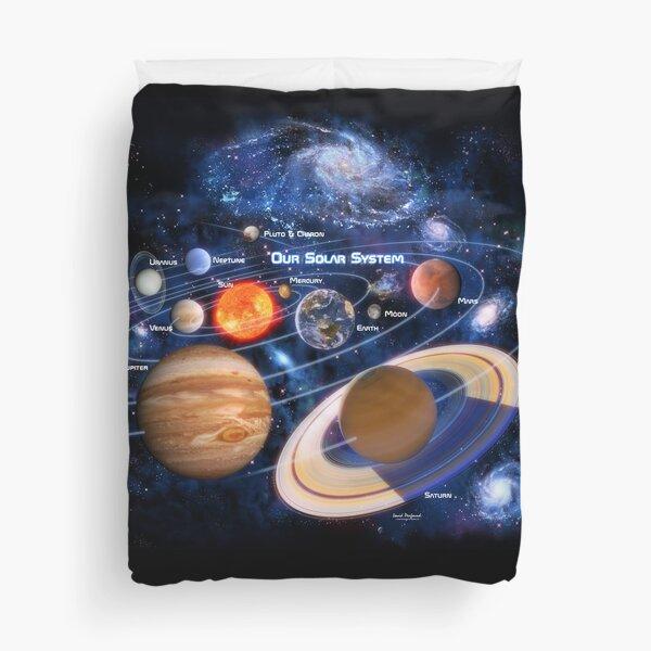 Our Solar System Duvet Cover