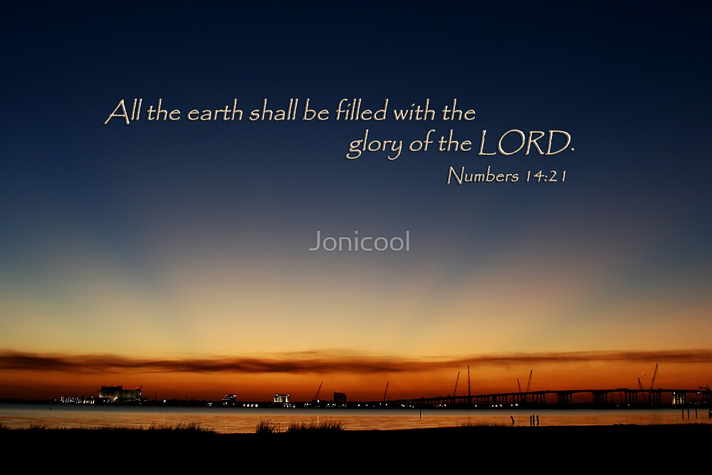 The Glory of the Lord by Jonicool