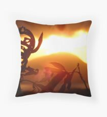 Diamond Head Sunrise Throw Pillow