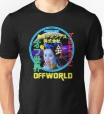 Blade Runner - Blimp Neon Spectacular T-Shirt