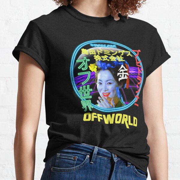 Blade Runner - Blimp Neon Spectacular T-shirt classique