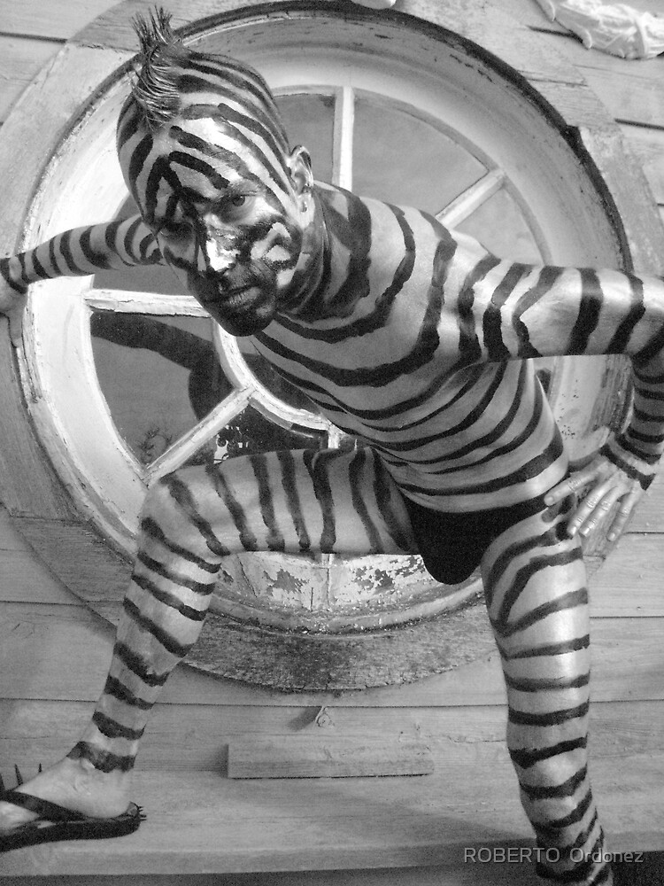 zebra guy 2 by BOBBYBABE