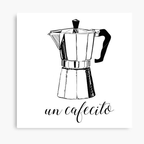 Un Cafecito, coffee Canvas Print