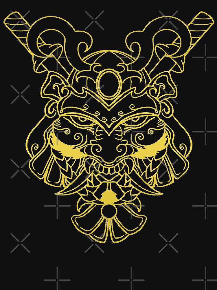 Golden Samurai by Elisecv