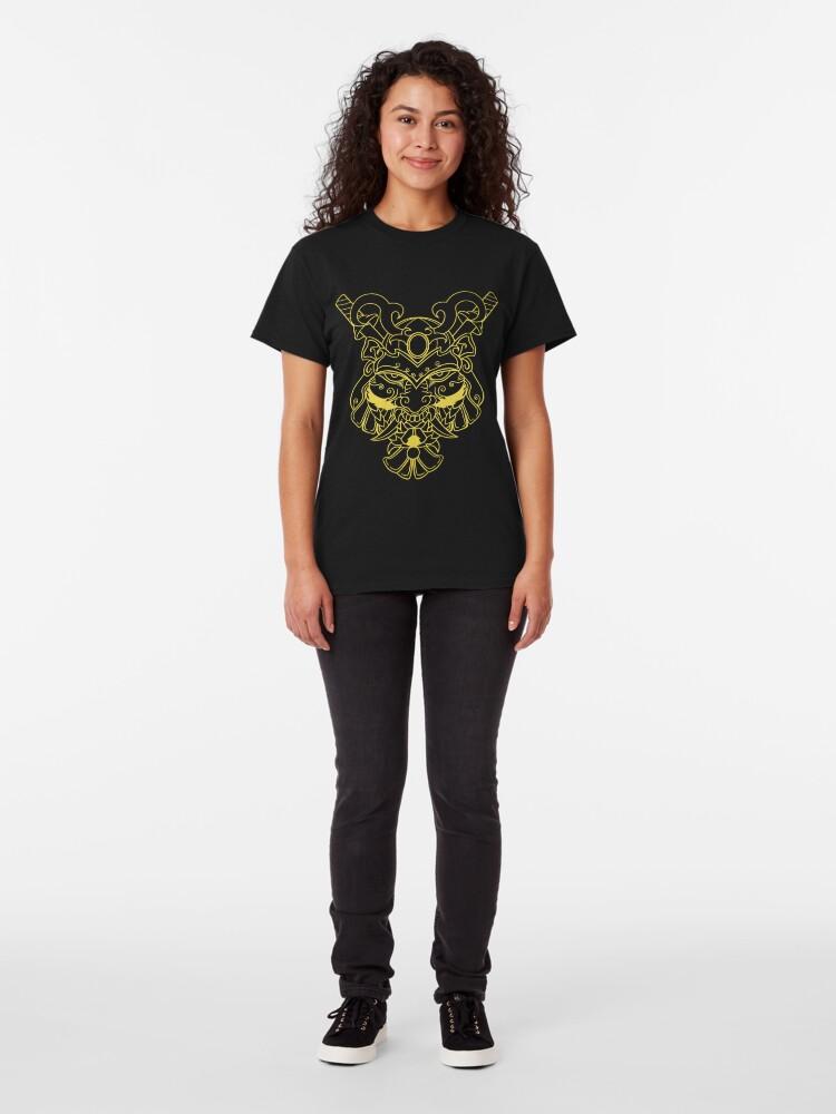 Alternate view of Golden Samurai Classic T-Shirt