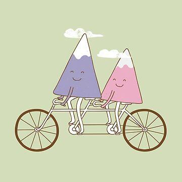 mountain bike by Milkyprint