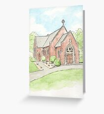 Chapel at Oakland Cemetery in St. Paul, Minnesota Greeting Card