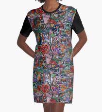 POP CULTURE - DECOPOLLAGE 1 Graphic T-Shirt Dress