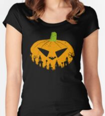 Rise of the Pumpkins Women's Fitted Scoop T-Shirt