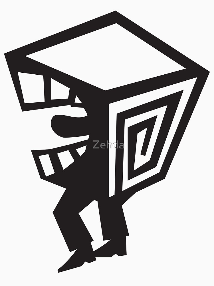 Box Mouth Man Screaming to Get Out by Zehda