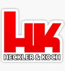 Heckler & Koch Firearms Sticker