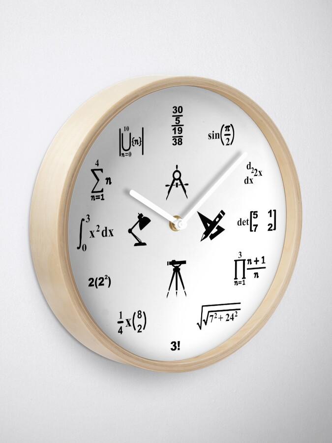 Alternate view of Engineer Clock Clock