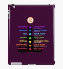 Chakras, Yoga, Meditation, OM, Spirituality iPad Case/Skin