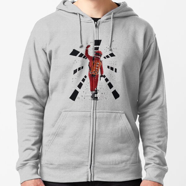 2001: A Space Odyssey (1968) Zipped Hoodie