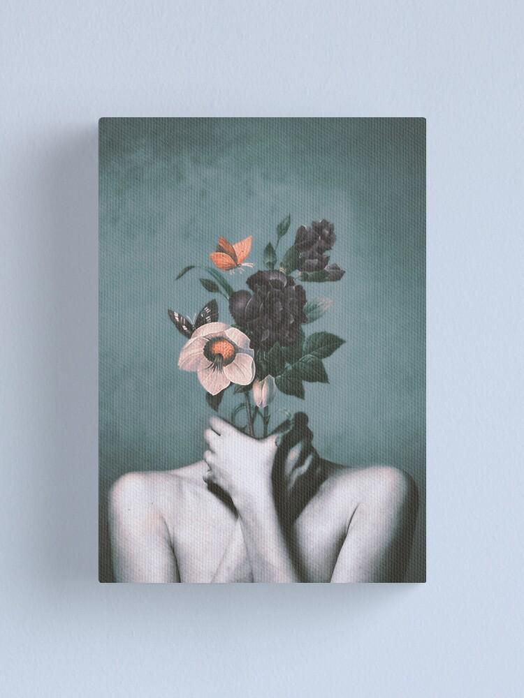 Alternate view of inner garden 3 Canvas Print