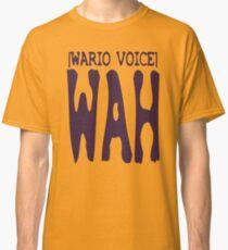 Wario Voice Shirt Classic T-Shirt