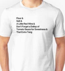 How To Make Gravy Unisex T-Shirt